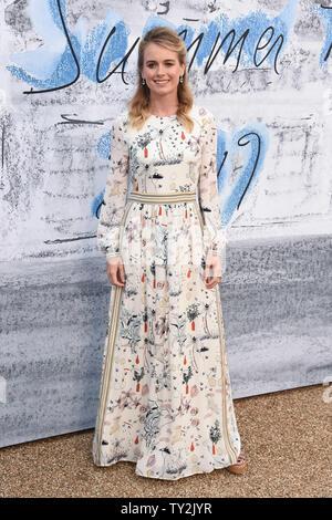 Londres, Royaume-Uni. 25 juin 2019: Cressida Bonas arrivant à la Serpentine Gallery Fête de l'été 2019, les jardins de Kensington à Londres. Photo: Steve Sav/Featureflash Photo Stock