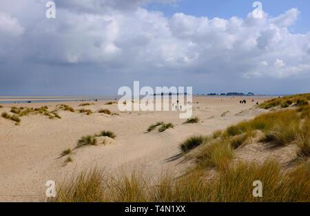 Wells beach, North Norfolk, Angleterre Photo Stock