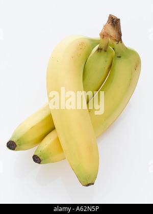 Les bananes tourné avec professional digital format moyen Photo Stock
