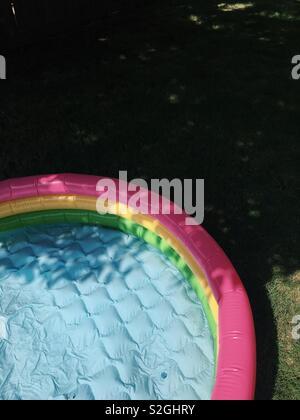 Dip d'été Photo Stock