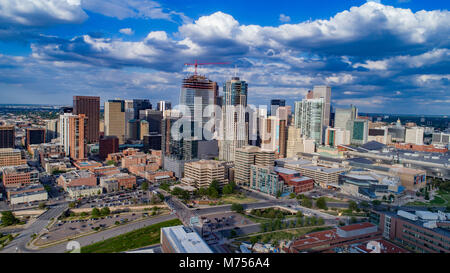 Le centre-ville de Denver, Colorado en 2017 Photo Stock