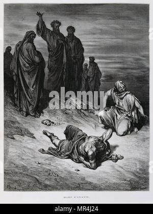 Gravure de Gustave Dore (1832-1883) Photo Stock
