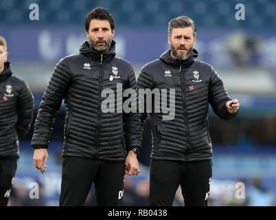 DANNY CROWLEY , NICKY CROWLEY, FC Everton V LINCOLN CITY, unis en FA Cup, GOODISON PARK, Everton, en Angleterre, 05 Janvier 2019 Photo Stock