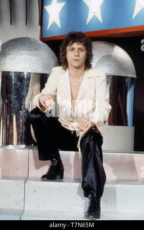 PAUL NICHOLAS Anglais chanteuse pop sur 1976 Photo Stock