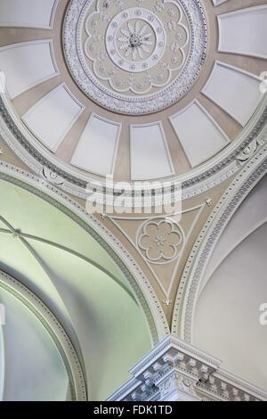 La coupole de la chapelle de Palladio, commencé en 1760 à la conception de James Paine, à The Green Photo Stock