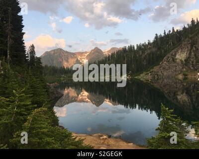 Mont Baker Photo Stock