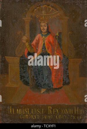 Wladyslaw III Roi de Pologne, de Hongrie et de Croatie (1424-1444), première moitié du 18ème cent.. On trouve dans la Collection de la Galerie nationale slovaque, Bratislava. Photo Stock