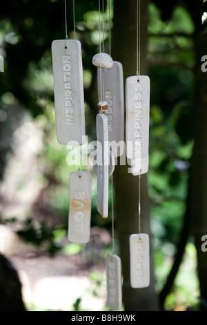 Carillon à vent de décoration Photo Stock