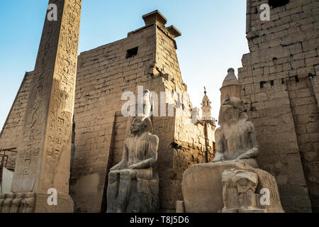 Temple de Luxor, Luxor, Egypte Photo Stock