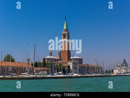 Basilique San Giorgio Maggiore, Vénétie, Venise, Italie Photo Stock