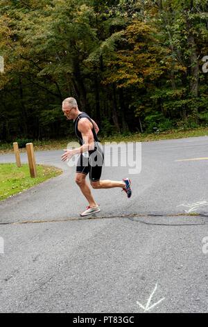 Duathlon (New York Hudson Valley) #3 Photo Stock