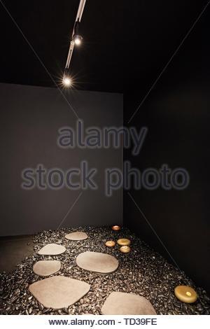 L'installation par KASA pour Panasonic Design. Design Biennale 2018 de Londres, Londres, Royaume-Uni. Architecte: Divers , 2019. Photo Stock