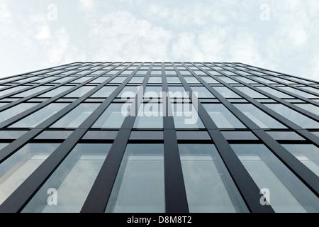 L'architecture moderne, Hambourg, Allemagne Photo Stock