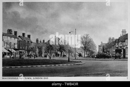 Vieille Ville (Londres), Beaconsfield, dans le Buckinghamshire. Date: vers 1930 Photo Stock