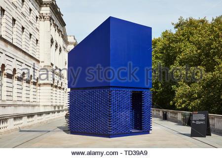 L'installation par Nathalie Harb pour le Liban. Design Biennale 2018 de Londres, Londres, Royaume-Uni. Architecte: Divers , 2019. Photo Stock