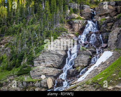 Le Glacier National Park, Montana. Photo Stock