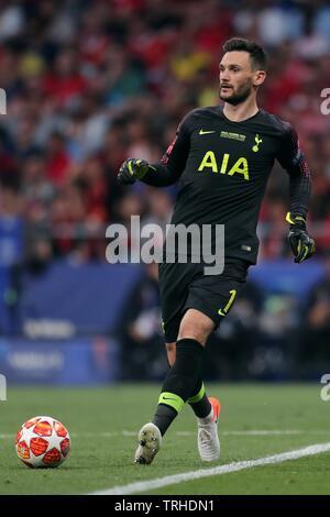 HUGO LLORIS, Tottenham Hotspur FC, 2019 Photo Stock