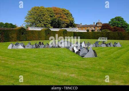 Houghton cross, Houghton Hall, Norfolk, Angleterre Photo Stock