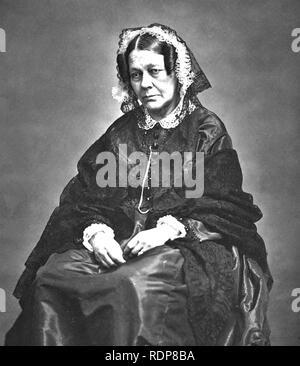 SOPHIE ROSTOPCHINE, comtesse de Ségur (1799-1874), romancier franco-russe Photo Stock