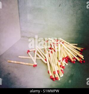 Allumettes Photo Stock