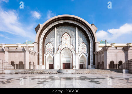 Mosquée du terriroire fédéral (Malais: Masjid Wilayah Persekutuan), Kuala Lumpur, Malaisie Photo Stock