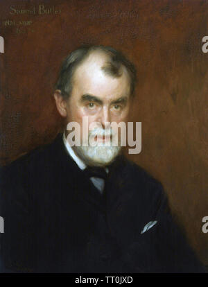 SAMUEL BUTLER (1835-1902), romancier anglais Photo Stock