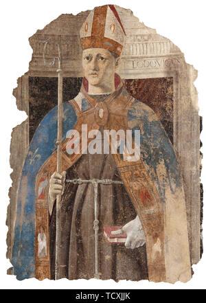 Saint Louis de Toulouse, 1460. On trouve dans la collection de Museo Civico, Sansepolcro. Photo Stock