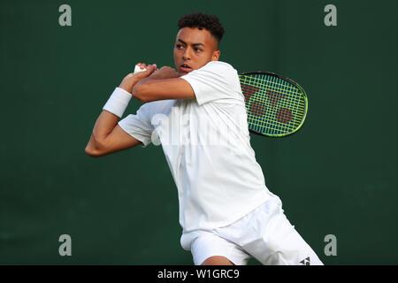 Paul Jubb Wimbledon 2019 Photo Stock