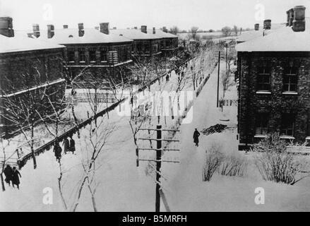 9 1917 1215 A1 13 Brest Litowsk vivant quarts de deleg Guerre Mondiale 1 1914 18 Russian German armistice de Brest Photo Stock