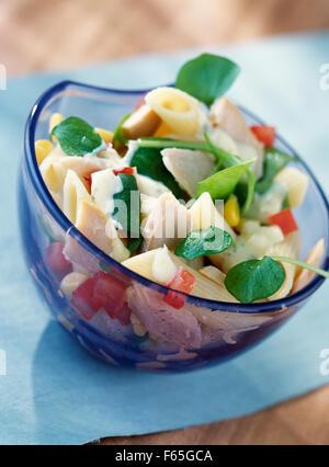Salade d'été (sujet: des salades) Photo Stock