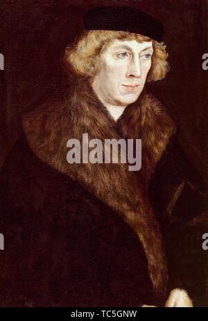 Lucas Cranach le Vieux, Philippe du Palatinat, 1480-1541, portrait, vers 1520 Photo Stock