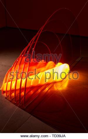 L'installation par la Mercerie Studios. Design Biennale 2018 de Londres, Londres, Royaume-Uni. Architecte: Divers , 2019. Photo Stock