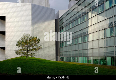 MRC Laboratory of Molecular Biology, Cambridge, Angleterre bâtiment campus biomédical Photo Stock