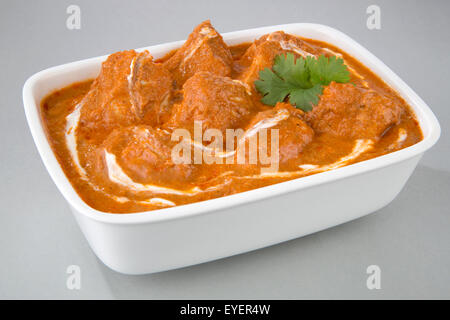Poulet au beurre INDIEN REPAS CURRY Photo Stock