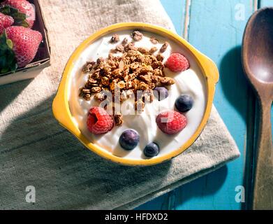 yogourt Photo Stock