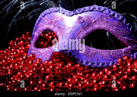 Plaine masque Noir Déguisement Théâtre