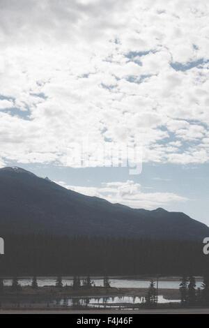 Belle le immagini del viaggio di Jasper, Canada Immagini Stock