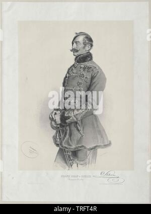 Schlik a Bassano e Weisskirchen, Franz count, Additional-Rights-Clearance-Info-Not-Available Immagini Stock