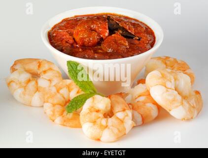 INDIAN boreale pasta di curry ingrediente Immagini Stock