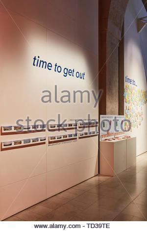 Installazione da Berghaus. London Design Biennale 2018, Londra, Regno Unito. Architetto: Vari , 2019. Immagini Stock