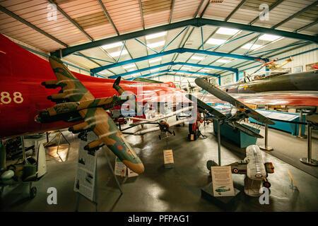 Il cacciatore in cui Neville Duke ha volato per proteggere il suo mondo aria record di velocità di 727 mph in 1953. Questo unico aeromobile era stato ordinato nel giugno 1948 come uno dei Immagini Stock
