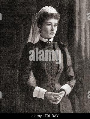 Ethel St Clair Grimwood, autore inglese Immagini Stock