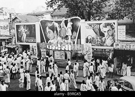 Soviet-Indian film 'viaggio oltre tre mari' Immagini Stock