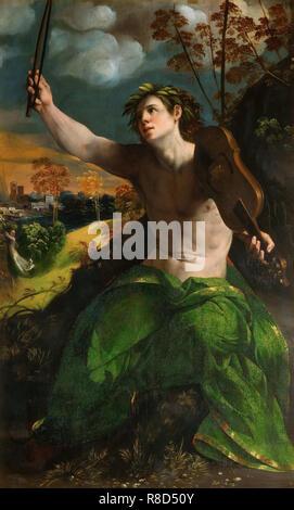 Apollo, ca 1522. Presenti nella collezione della Galleria Borghese di Roma. Immagini Stock