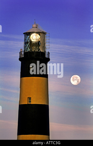 St John's Point Lighthouse, Co Down. Immagini Stock