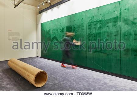 Installazione di Arthur Analts per la Lettonia. London Design Biennale 2018, Londra, Regno Unito. Architetto: Vari , 2019. Immagini Stock