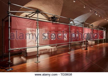 Installazione da parte di terra Studios per la Cina. London Design Biennale 2018, Londra, Regno Unito. Architetto: Vari , 2019. Immagini Stock
