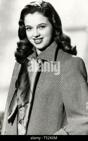 DIANA DORS (1931-1984) film inglese attrice circa 1947 Immagini Stock