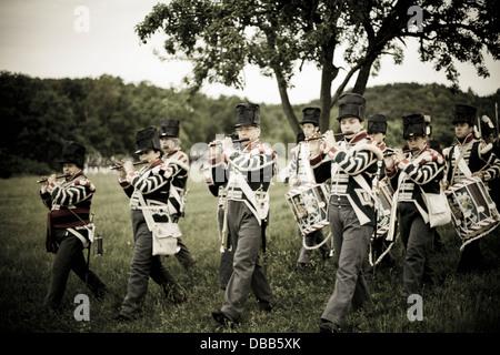 Canada,Ontario,Stoney Creek,Battlefield House, Battaglia di Stoney Creek 1812 rievocazione. Immagini Stock