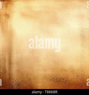 Abstract oro metallico sfondo texture Immagini Stock